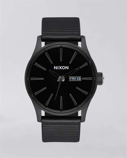 Sentry Leather All Black/Blk