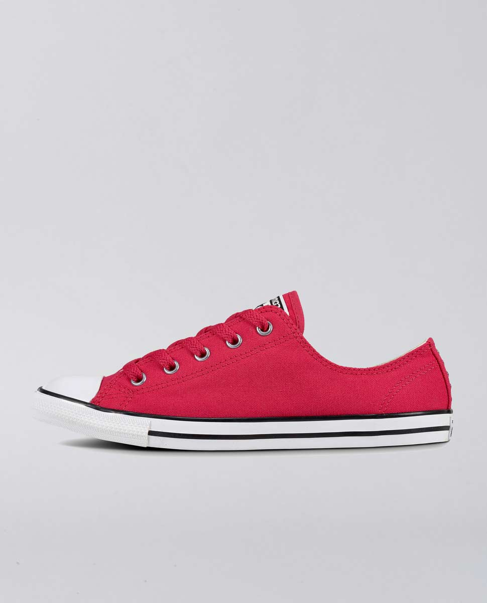 Dainty Canvas Stud Low Pink Shoes