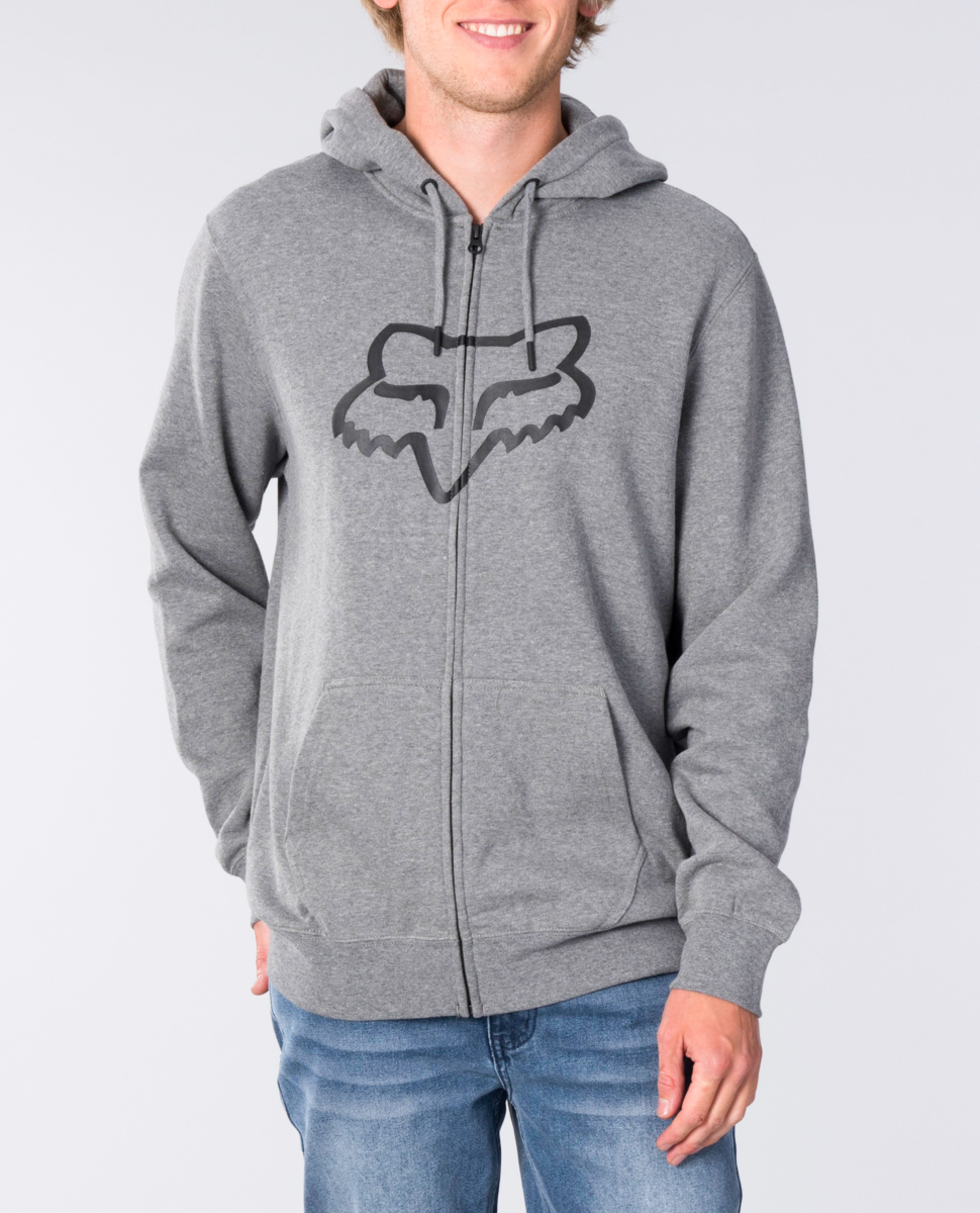 Legacy Fox Head Zip Thru Hood