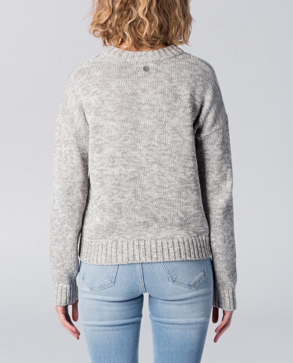 Olivia Cable Knit Crop Jumper
