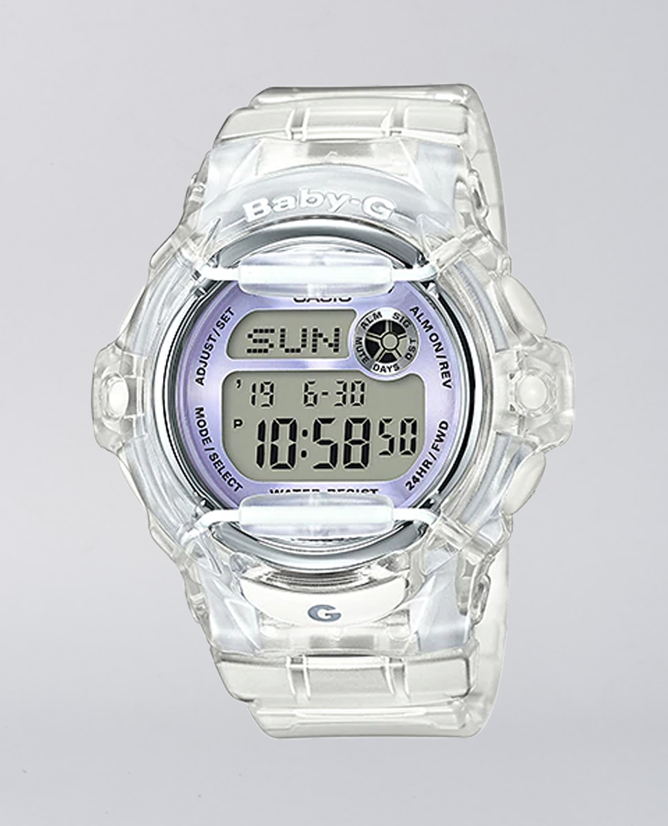 Baby-G Jelly Clear Series