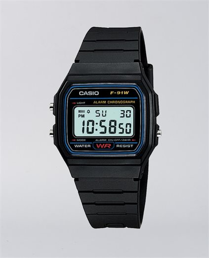 Vintage Black Digital Watch