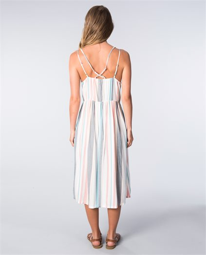 My Way To Coast Stripe Dress