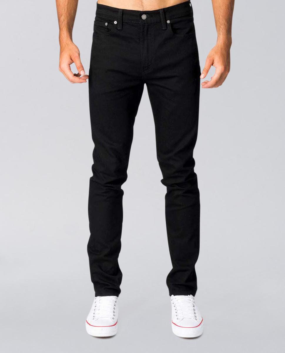 510 Skinny Black Jean