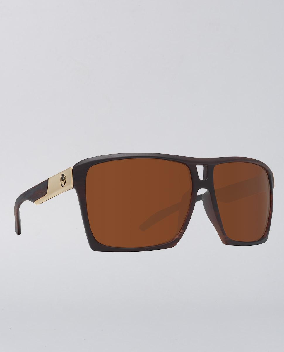 The Verse Matte Woodgrain Bronze Sunglasses
