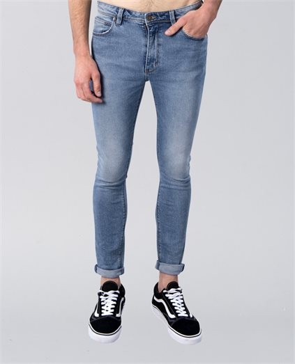 A Dropped Skinny Turn Up Pant
