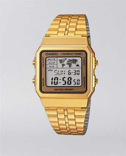 Casio Vintage World Time