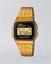 Casio Vintage Digital Gold Watch