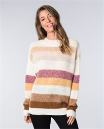 Dawning Stripe Mohair Knit