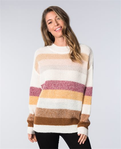 Dawning Stripe Mohair Knit