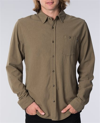 Pool Linen Long Sleeve Shirt