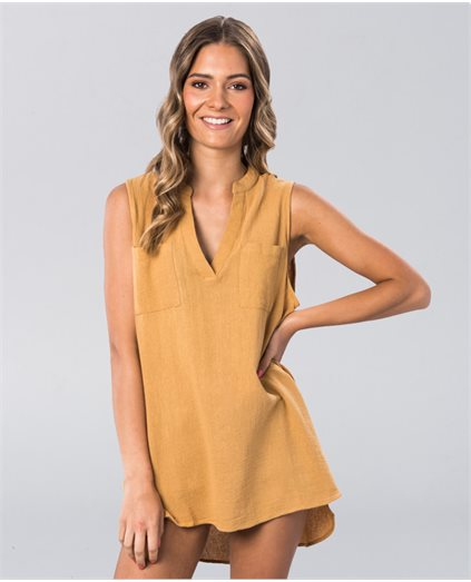 Noa Sleeveless Beach Shirt