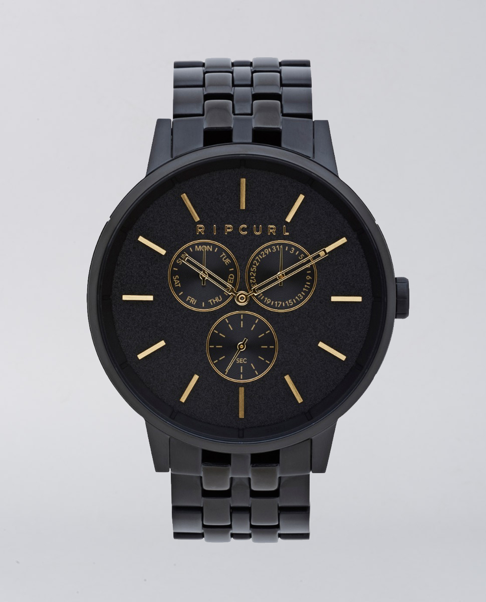 Detroit Multi Midnight Stainless Steel Watch