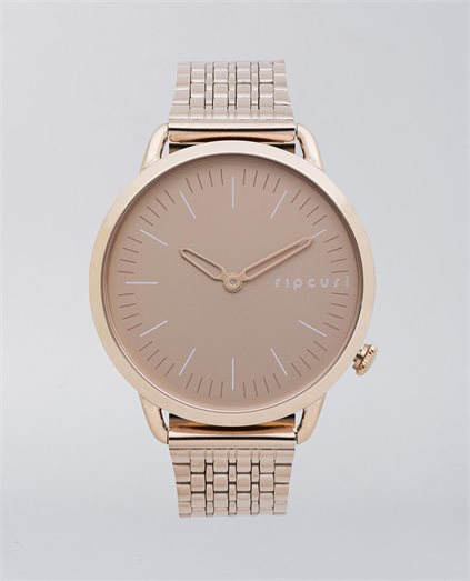 Super Slim Rose Gold Stainless Steel Watch