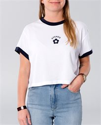 Ivy Relaxed Fit Ringer Tee