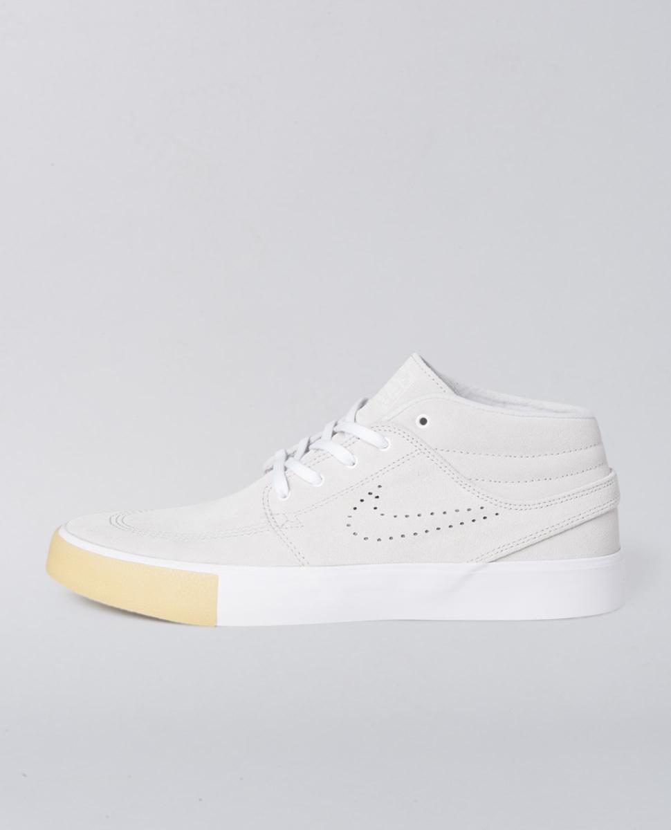 Zoom Janoski Mid White Shoes