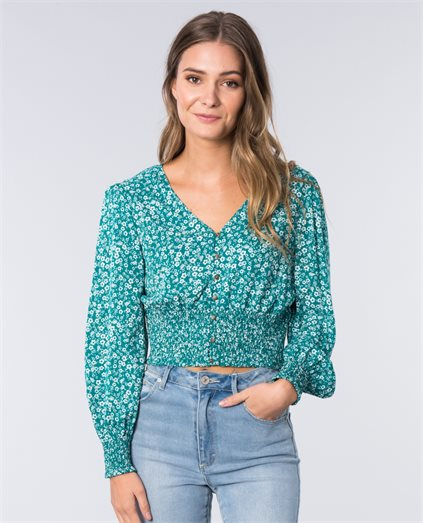 Emerald Fields Blouse