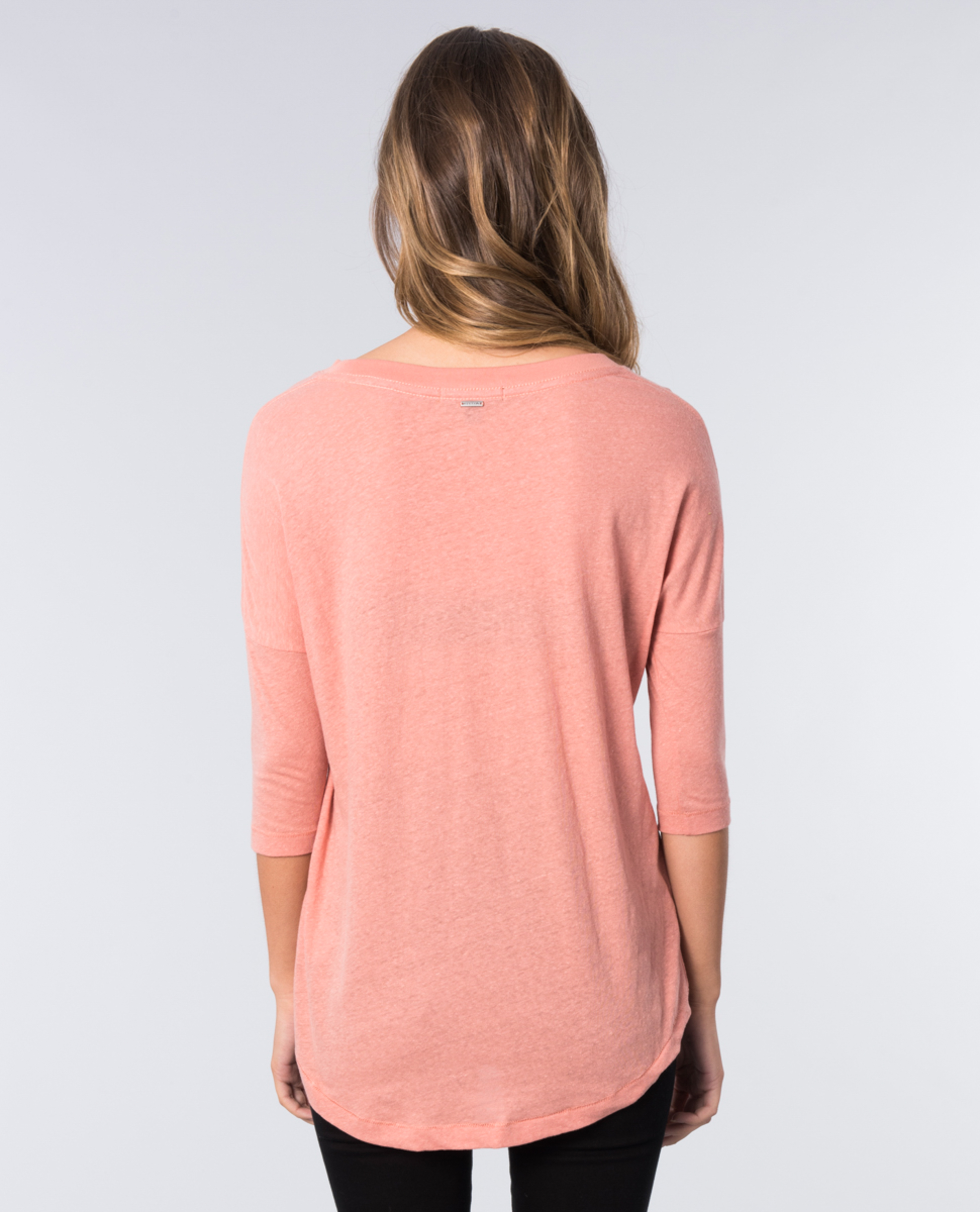 Barely There 3/4 Sleeve Tee