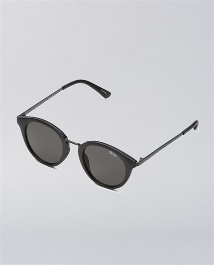 Gotta Run Matte Black Smoke Sunglasses