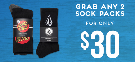 Socks 2 for $30 Kids