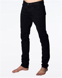 Slim Leg Salt Black Jean