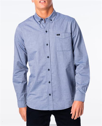 Etch Dobby Long Sleeve Shirt