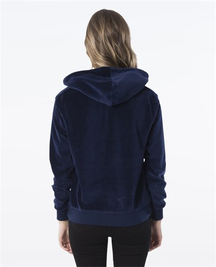 Cult Velour Half Zip Hood