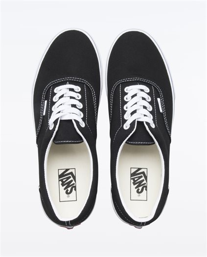 Era Check Block Black Shoes