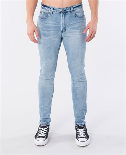 Pipes Crop Skinny Jean