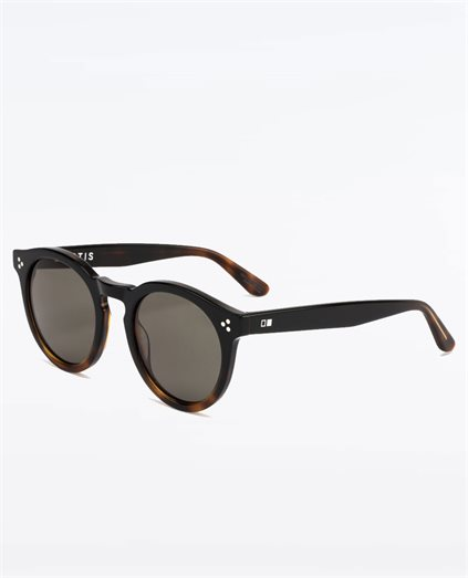 High Noon Black Dark Havana Sunglasses