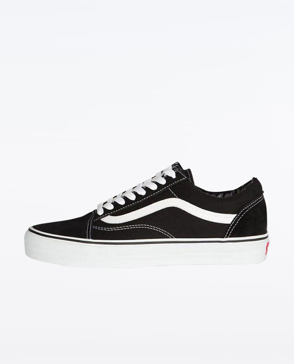 c12d474e Vans Kids Old Skool Black White Shoes at Ozmosis