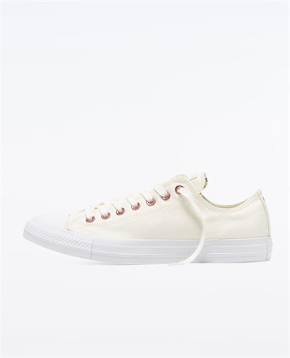 Chuck Taylor All Star Hearts Low Top Egret Shoe