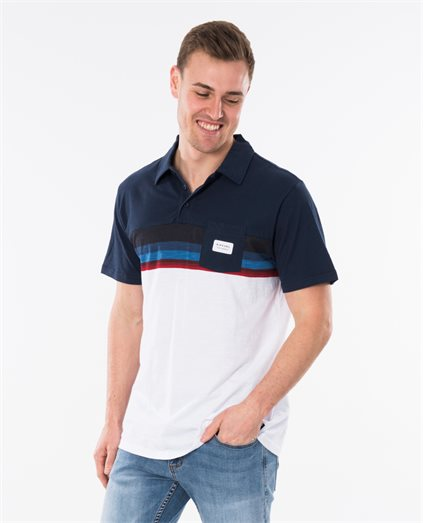 Rapture Stripe Polo