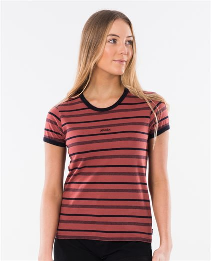 Basic Stripe Standard Fit Tee