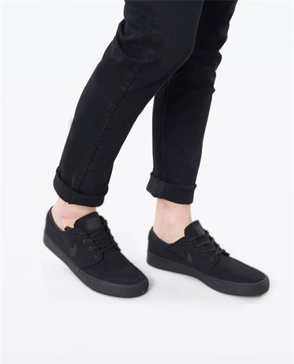 Zoom Janoski Black Shoe