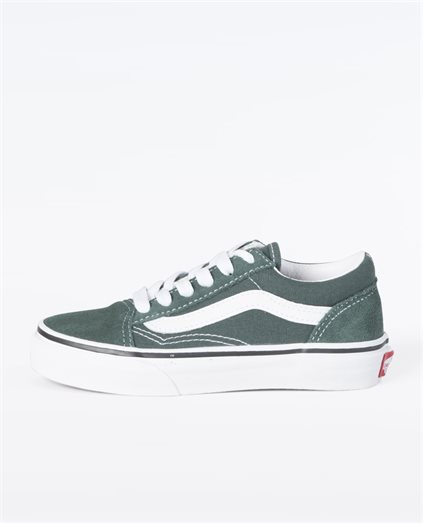 Kids Old Skool Trekking Green Shoe