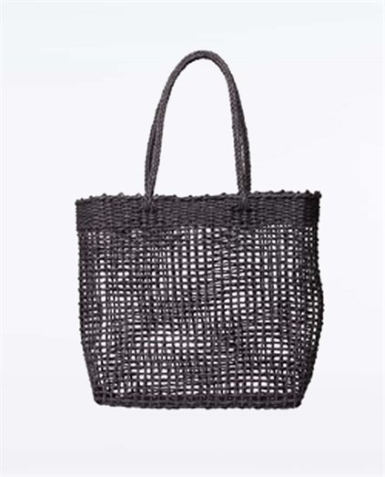 Bungalow Paper Straw Beach Bag