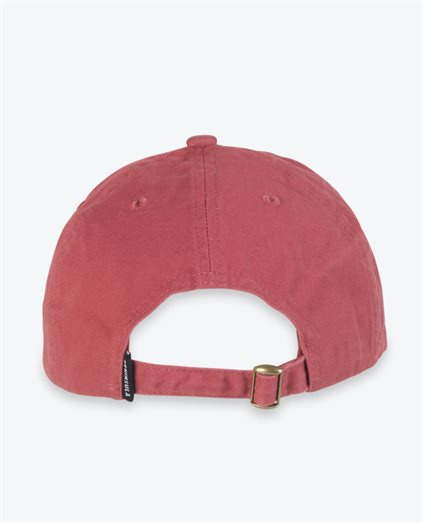 Washed Shiraz Palm Circle Logo Cap