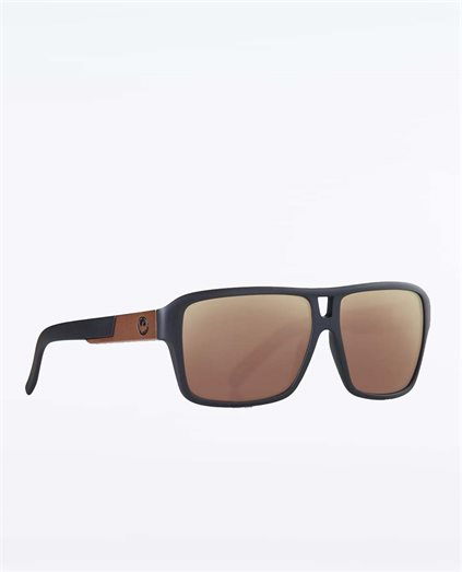The Jam Matte Black Copper Sunglasses
