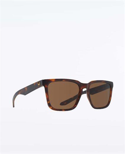 Baile Matte Dark Tortoise Polarised Sunglasses