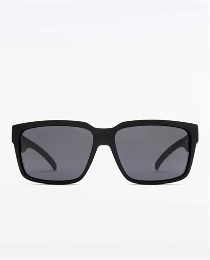 The Double Matte Black Grey Sunglasses