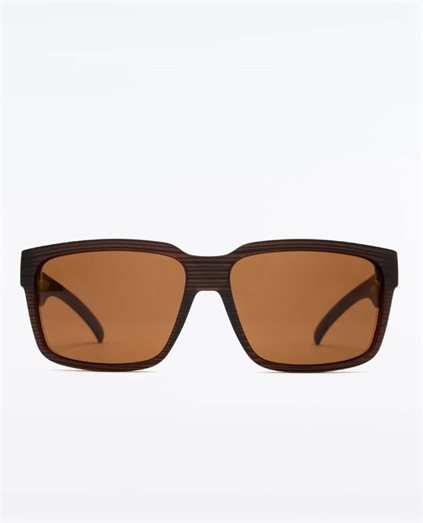 The Double Woodland Matte Brown Sunglasses