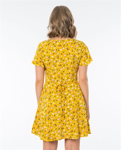 Olivia Button Front Dress