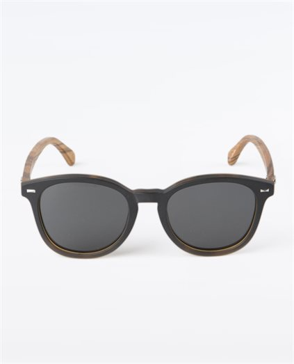 Risky Business Matte Black Polarised Sunglasses