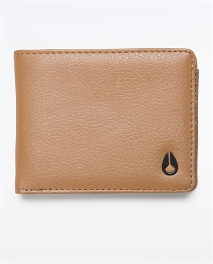 Cape Vegan Leather Bi-Fold Wallet