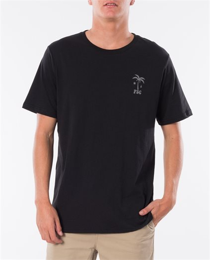 Brock Washed Black Tee