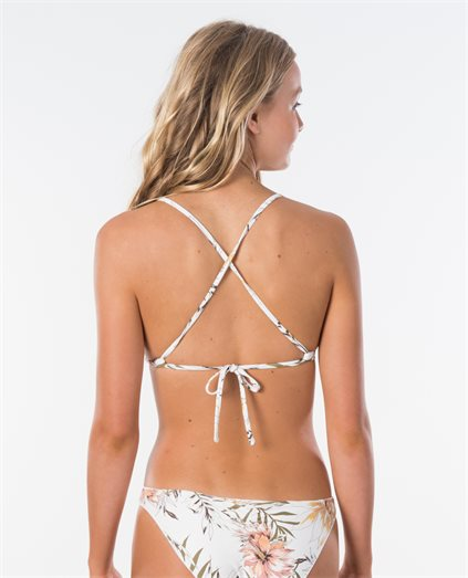 Playa Blanca Cross Back Tri Bikini Top