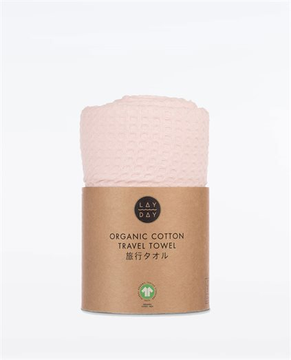 Rover Blush Waffle Weave Towel