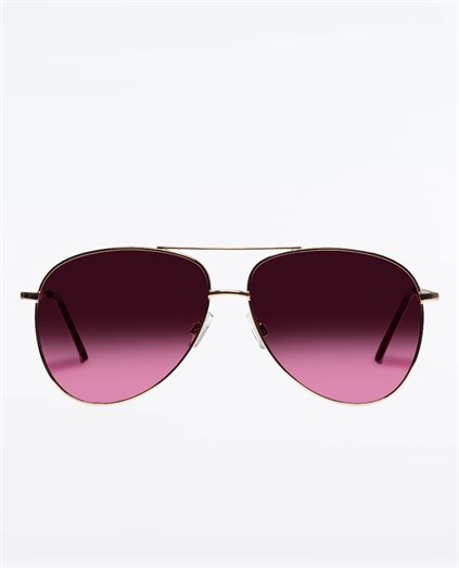 Joy Ride Rose Gold Sunglasses