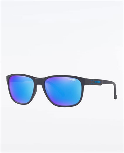 Urca Dark Blue Green Mirror Sunglasses